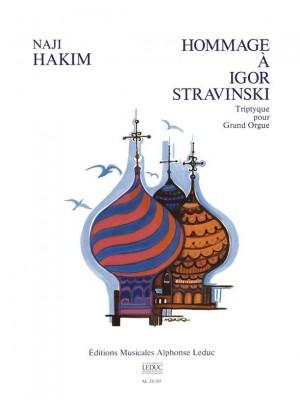 Naji Hakim: Hommage A Igor Stravinsky (Organ)