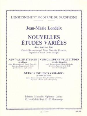 Jean-Marie Londeix: Nouvelles Études Variées dans tous les Tons