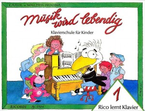 Noona: Rico lernt Klavier Vol.1