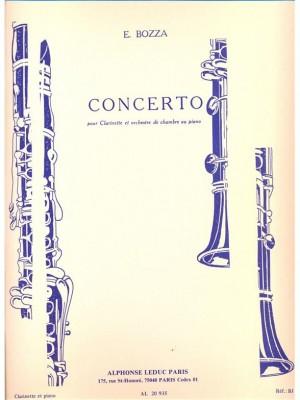 Eugène Bozza: Concerto For Clarinet And Chamber Orchestra