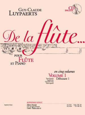 Guy-Claude Luypaerts: Guy-Claude Luypaerts: de La Flûte Vol.1