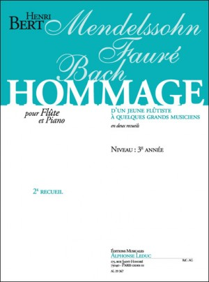 Bert: Hommage D'Un Jeune Flutiste Vol. 2