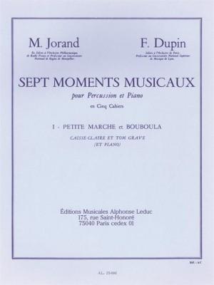 Marcel Jorand: 7 Moments musicaux Vol.1 - Maman