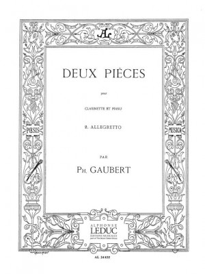 Philippe Gaubert: Philippe Gaubert: 2 Pieces No.2: Allegretto