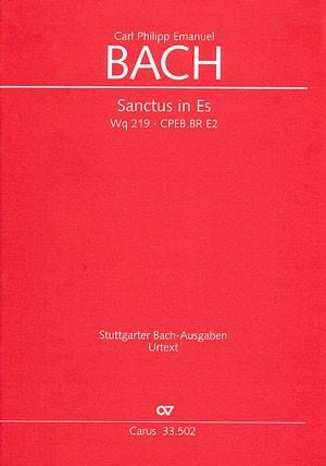 Bach, CPE: Sanctus in Es (Wq 219; Es-Dur)