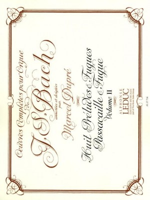 J.S. Bach: Complete Organ Works Volume 2: Eight Preludes and Fugues; Passacaglia and Fugue Product Image