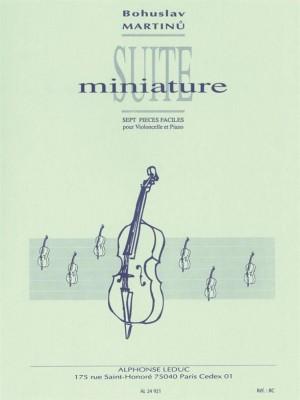 Bohuslav Martinu: Suite Miniature H192
