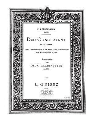 Felix Mendelssohn Bartholdy: Duo Concertant