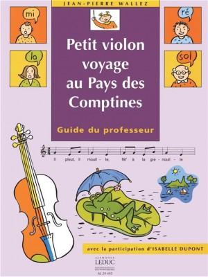 Dupont/Wallez: Petit Violon Voyage Au Pays Des Comptines (Teacher's Book) Product Image