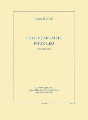 Betsy Jolas: Petite Fantaisie Pour Léo