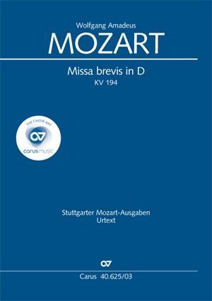 Mozart: Missa brevis in D (KV 194; D-Dur)