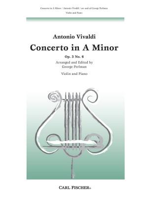 Vivaldi: Concerto FI/176 (RV356, Op.3/6) in A minor (red. Perlman)