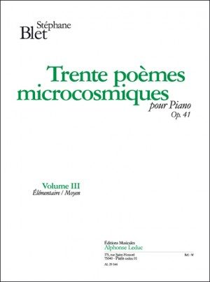 Stéphane Blet: Poemes(20) Microcosmiques 3