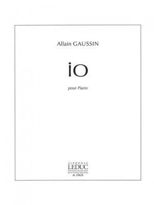 Allain Gaussin: Io (Piano solo)
