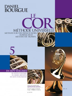 Daniel Bourgue_Bourgue: Le Cor Methode Universelle - Vol.5