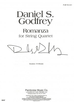 Godfrey: Romanza