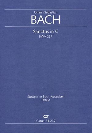 Bach, JS: Sanctus in C (BWV 237; C-Dur)