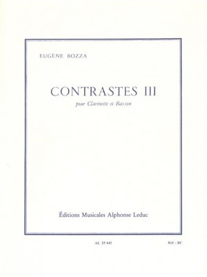 Eugène Bozza: Contrasts III