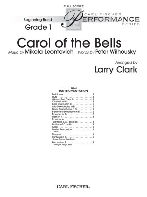 Leontovich: Carol of the Bells (arr. L.Clark)