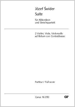 Swider: Suite für Akkordeon und Streichquartett