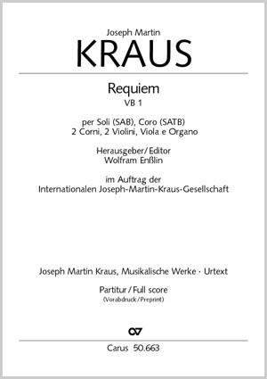 Kraus: Requiem (VB 1)