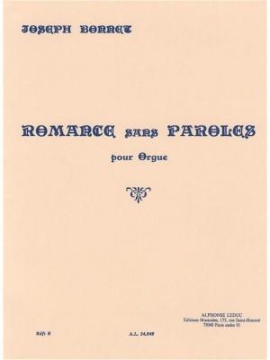 Joseph Bonnet: Romance Sans Paroles Op.7 No.8
