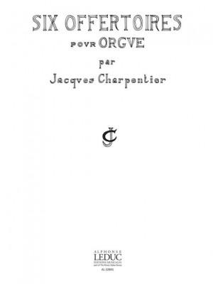J. Charpentier: 6 Offertoires