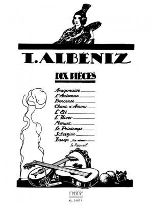 Isaac Albéniz: 10 Pieces