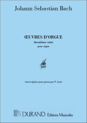 Bach: Oeuvres d'Orgue Vol.2