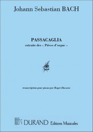 Bach: Passacaglia BWV582 (transc. J.J.Roger-Ducasse)