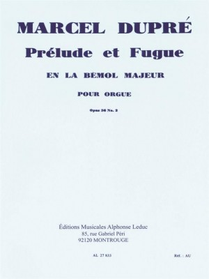 Marcel Dupré: Prelude et Fugue In A-Flat Major Product Image