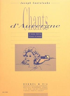 Joseph Canteloube: Joseph Canteloube: Chants d'Auvergne Vol.5