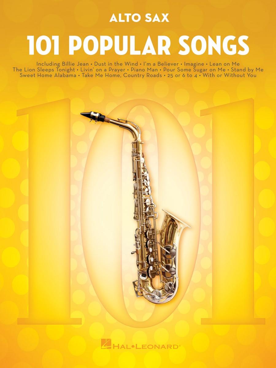 101 Popular Songs Alto Saxophone Presto Sheet Music
