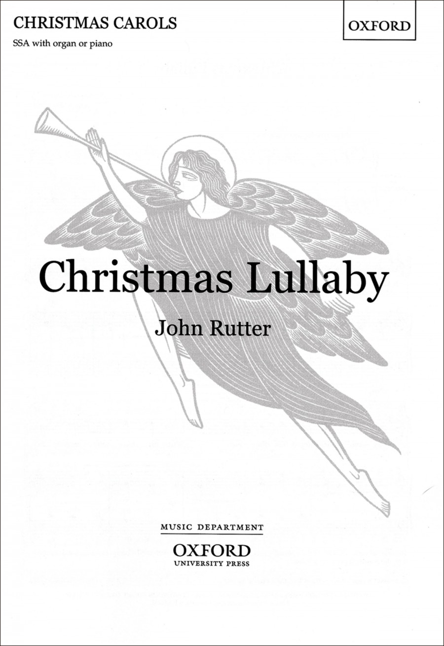 Rutter: Christmas Lullaby | Presto Sheet Music