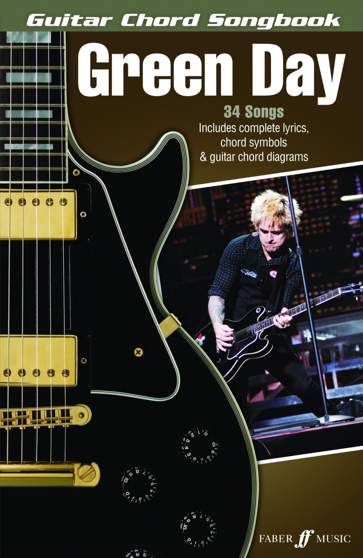 Green Day Guitar Chord Songbook Presto Sheet Music