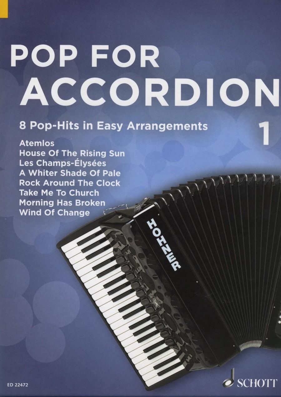 Pop For Accordion Band 1 | Presto Sheet Music