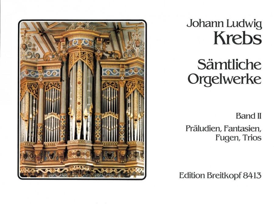 Krebs, J L: Complete Organ Works Bd. 2   Presto Sheet Music