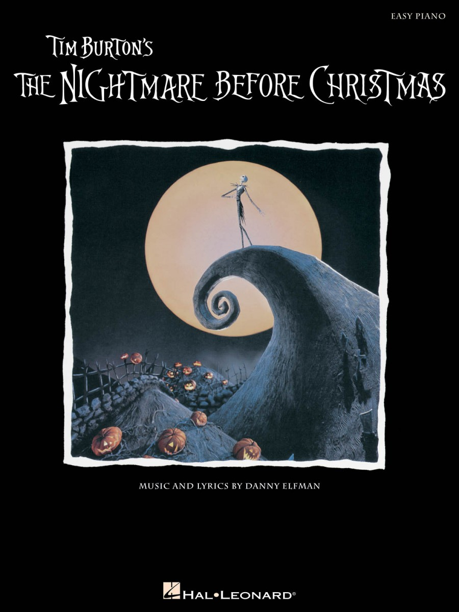 Danny Elfman: The Nightmare Before Christmas (Easy Piano) | Presto ...