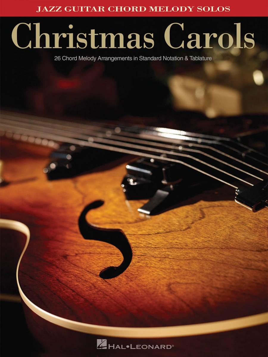 Christmas Carols Jazz Guitar Chord Melody Solos Presto Sheet Music