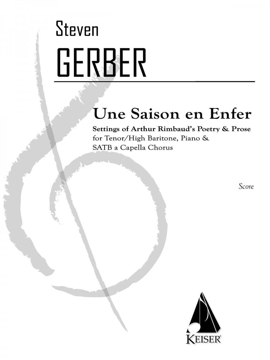 Steven R Gerber Une Saison En Enfer Presto Sheet Music