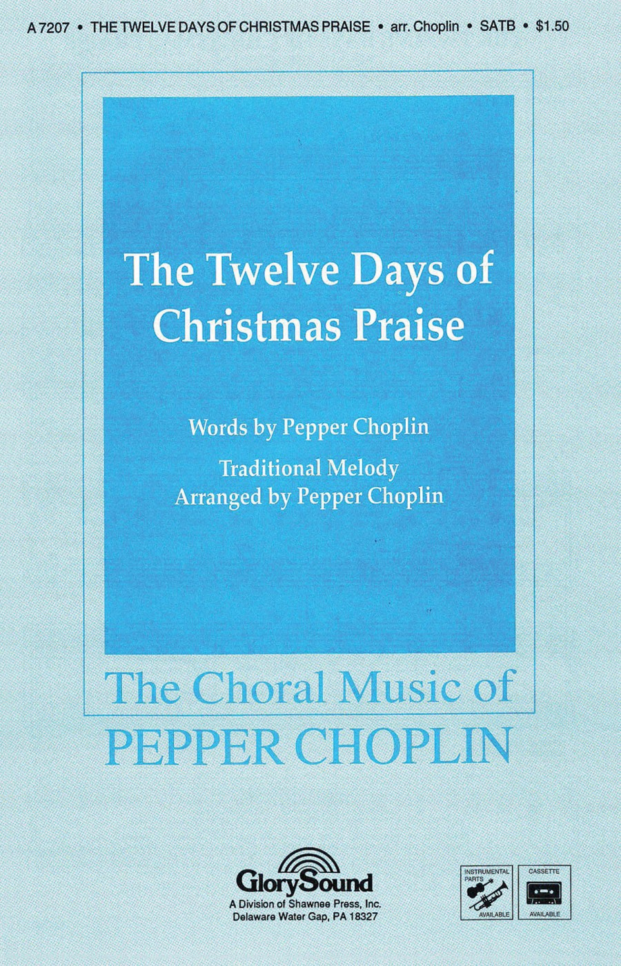 pepper choplin the twelve days of christmas - 12 Days Of Christmas Instrumental
