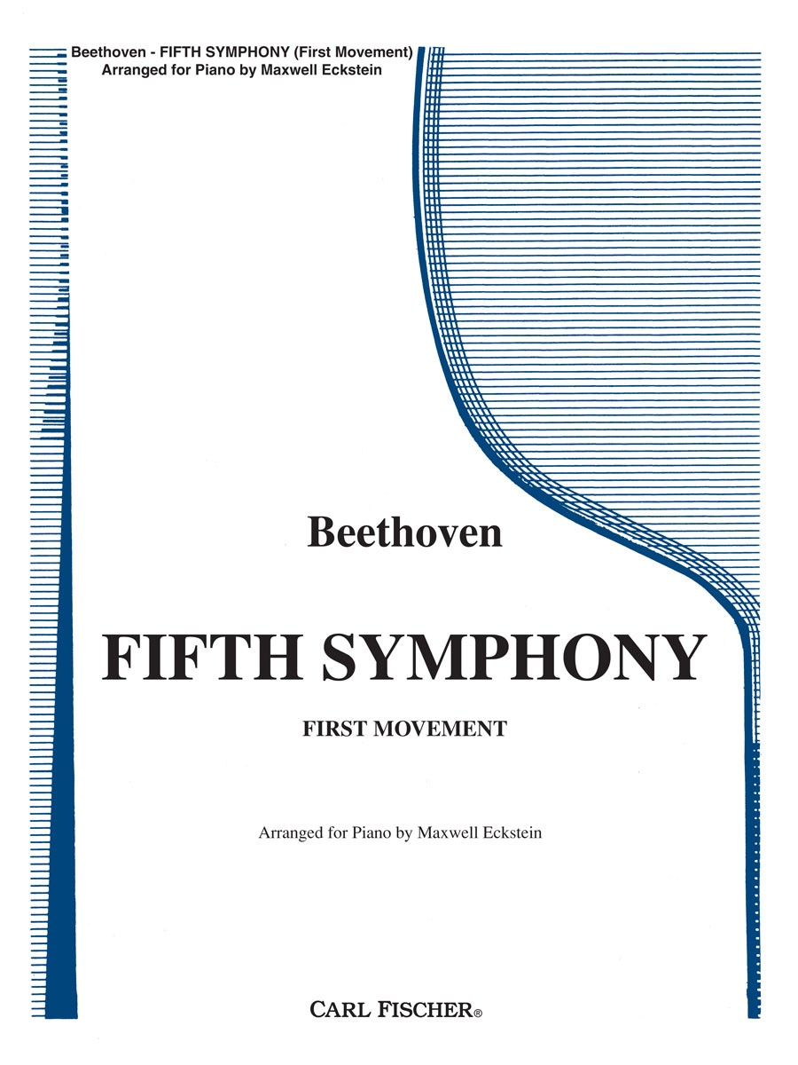 Beethoven Fifth Symphony First Movement Presto Sheet Music