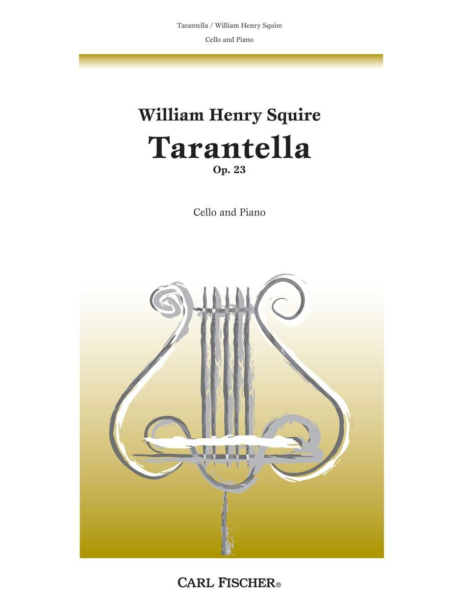 Squire Tarantella Op23 Presto Sheet Music