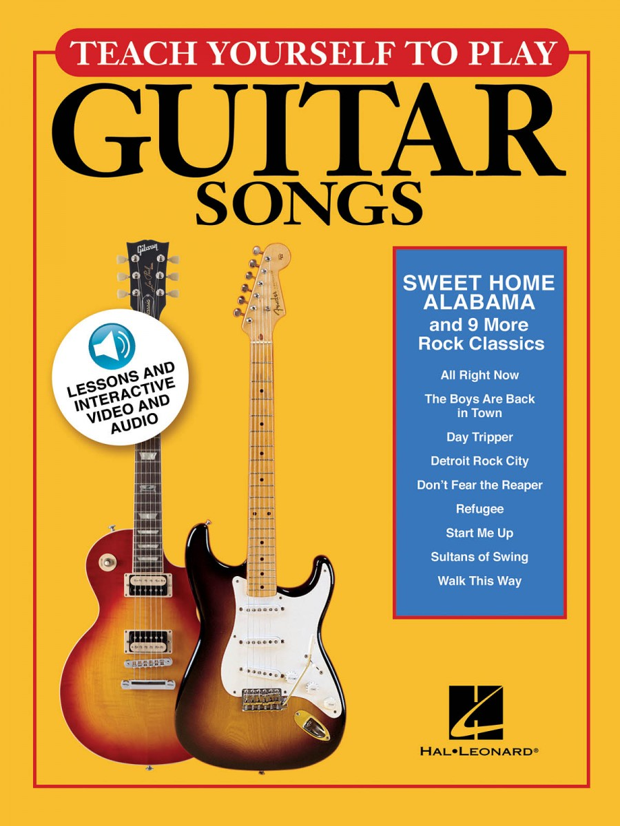 Teach Yourself To Play Guitar Songs Sweet Home Alabama And 9 More