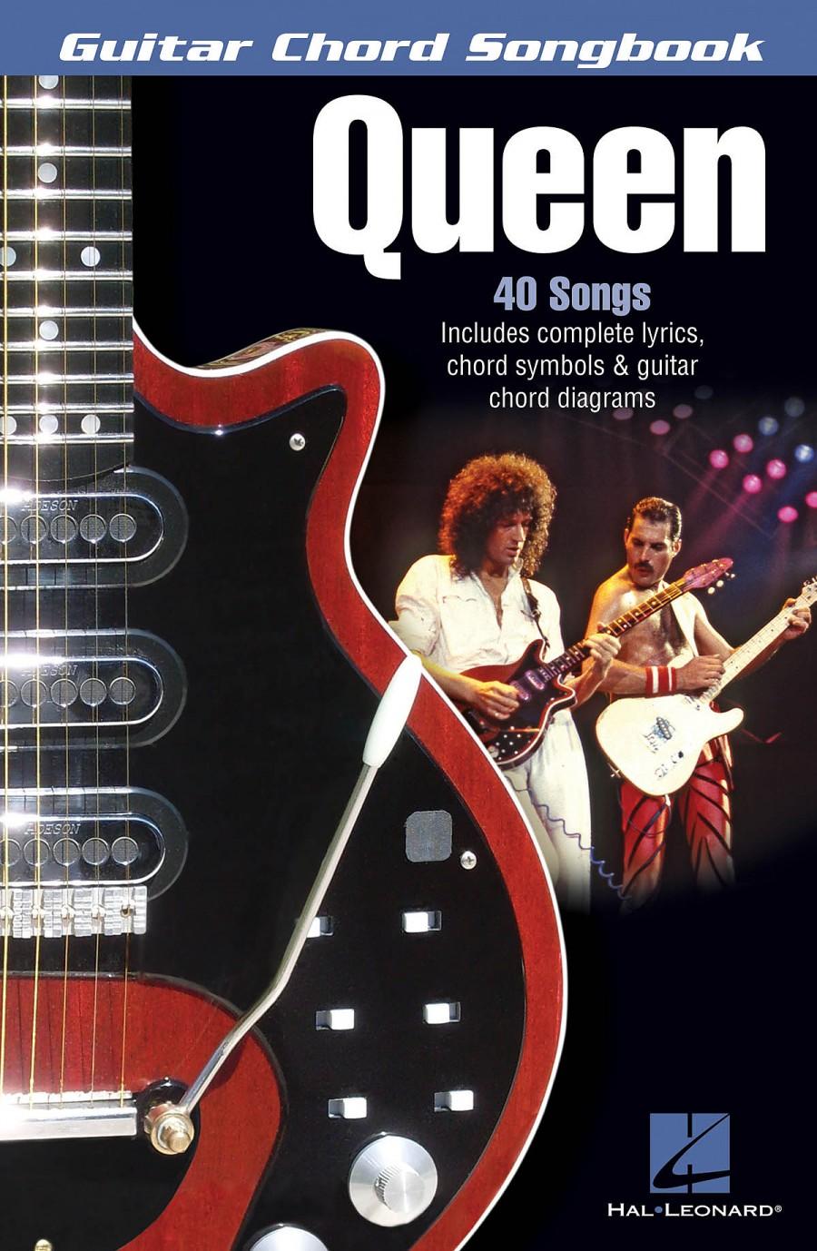 Guitar Chord Songbook Queen Presto Sheet Music