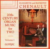 20th Century Organ Music for Two, Vol. 1