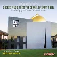 Sacred Music from the Chapel of Saint Basil
