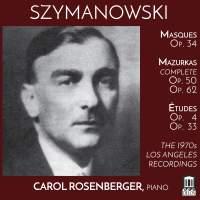Karol Szymanowski: Masques, Études & Mazurkas