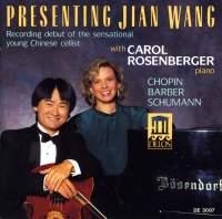 Presenting Jian Wang