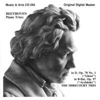Beethoven: Ghost & Archduke Piano Trios